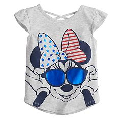 Disney's Minnie Mouse Toddler Girl Fourth of July Graphic Tee by Jumping Beans®