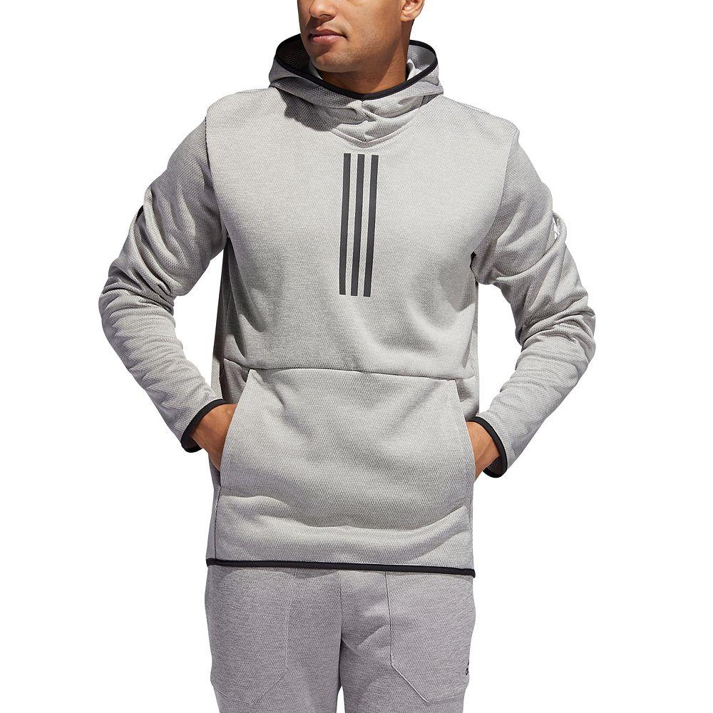 Men's adidas Team Issue 3-Stripe Pullover Hoodie