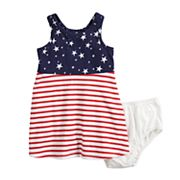 Baby Girl Jumping Beans® Patriotic Dress