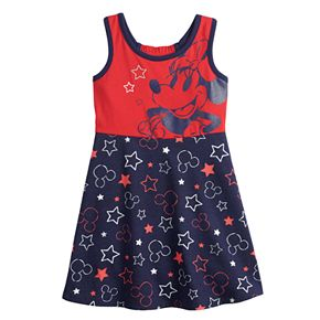 Disney's Minnie Mouse Baby Girl Patriotic Dress by Jumping Beans®