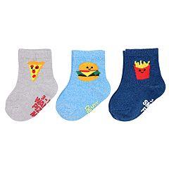 Baby / Toddler Boy Carter's 3-pack Food Crew Socks