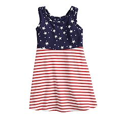 ef5b6721dc9 Toddler Girl Jumping Beans® Patriotic Dress