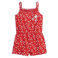 Toddler Girl Jumping Beans® Star Romper