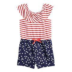 Toddler Girl Jumping Beans® Patriotic Romper