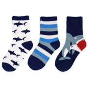 Baby / Toddler Boy Carter's 3-pack Shark Crew Socks
