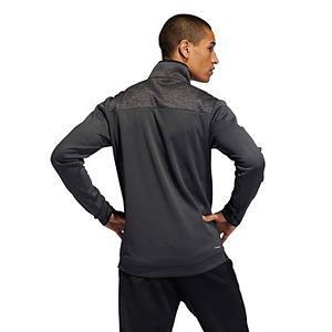 Men's adidas Team Issue Quarter-Zip Fleece Top