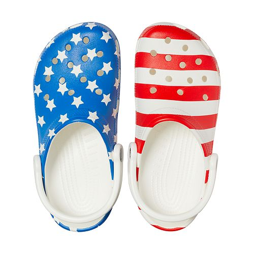 Crocs Classic American Flag Men's Clogs
