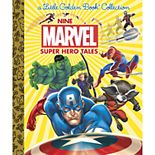 Penguin Random House Nine Marvel Super Hero Tales Book