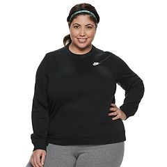 Plus Size Nike Fleece Crewneck Sweatshirt