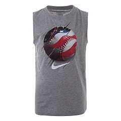 Boys 4-7 Nike Patriotic Baseball Muscle Tee