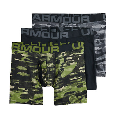 Men's Under Armour 3-pack Charged Cotton® Stretch 6-inch Boxerjock® Boxer Briefs