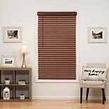 "Sonoma Goods For Life? Cordless Faux Wood Blind - 64"" Length"