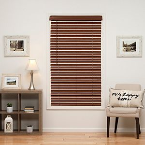 """SONOMA Goods for Life® Cordless Faux Wood Blind - 64"""" Length"""
