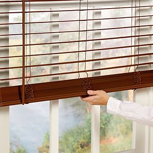 "Sonoma Goods For Life? Cordless Faux Wood Blind - 72"" Length"