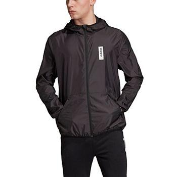 adidas Men's Brilliant Basics Full-Zip Hoodie