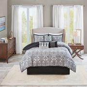 Madison Park 7-piece Angelica Jacquard Comforter Set