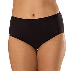 Plus Size Mazu Swim Hip Minimizer Midrise Brief Bikini Bottoms