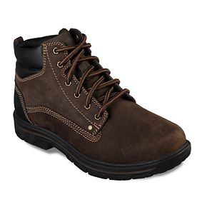Skechers Relaxed Fit Segment Garnet Men's Boots