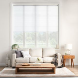 "SONOMA Goods for Life? Cordless Light Filtering Pleated Shade - 64"" Length"