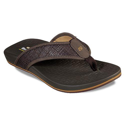 Skechers Relaxed Fit Pelem Wesker Men's Flip-Flip Sandals