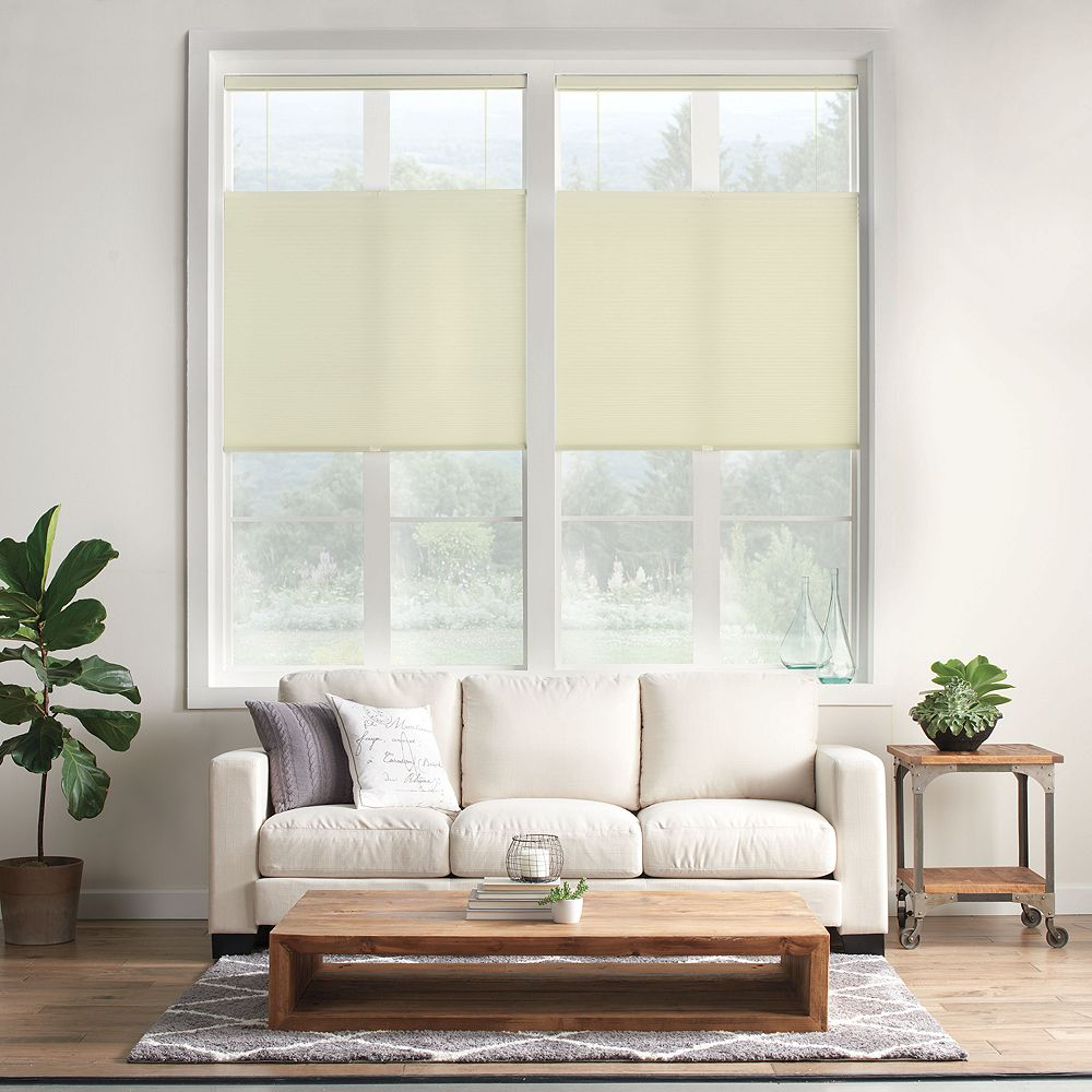 """SONOMA Goods for Life® Cordless Light Filtering Top Down Bottom Up Shade - 64"""" Length"""