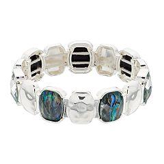 Dana Buchman Stone Stretch Bracelet