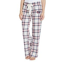 Women's Columbus Blue Jackets Flannel Pajama Pants