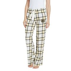 Women's Boston Bruins Flannel Pants