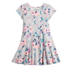 Girls Grey Kids Dresses Clothing Kohl S