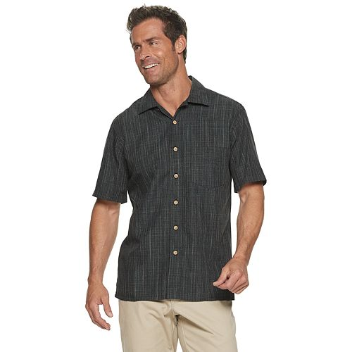 Men's Batik Bay Textured Slubbed Button-Down Shirt