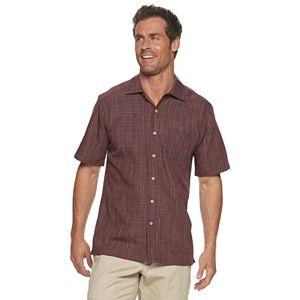 Men's Batik Bay Textured Slubbed Button-Down Shirt