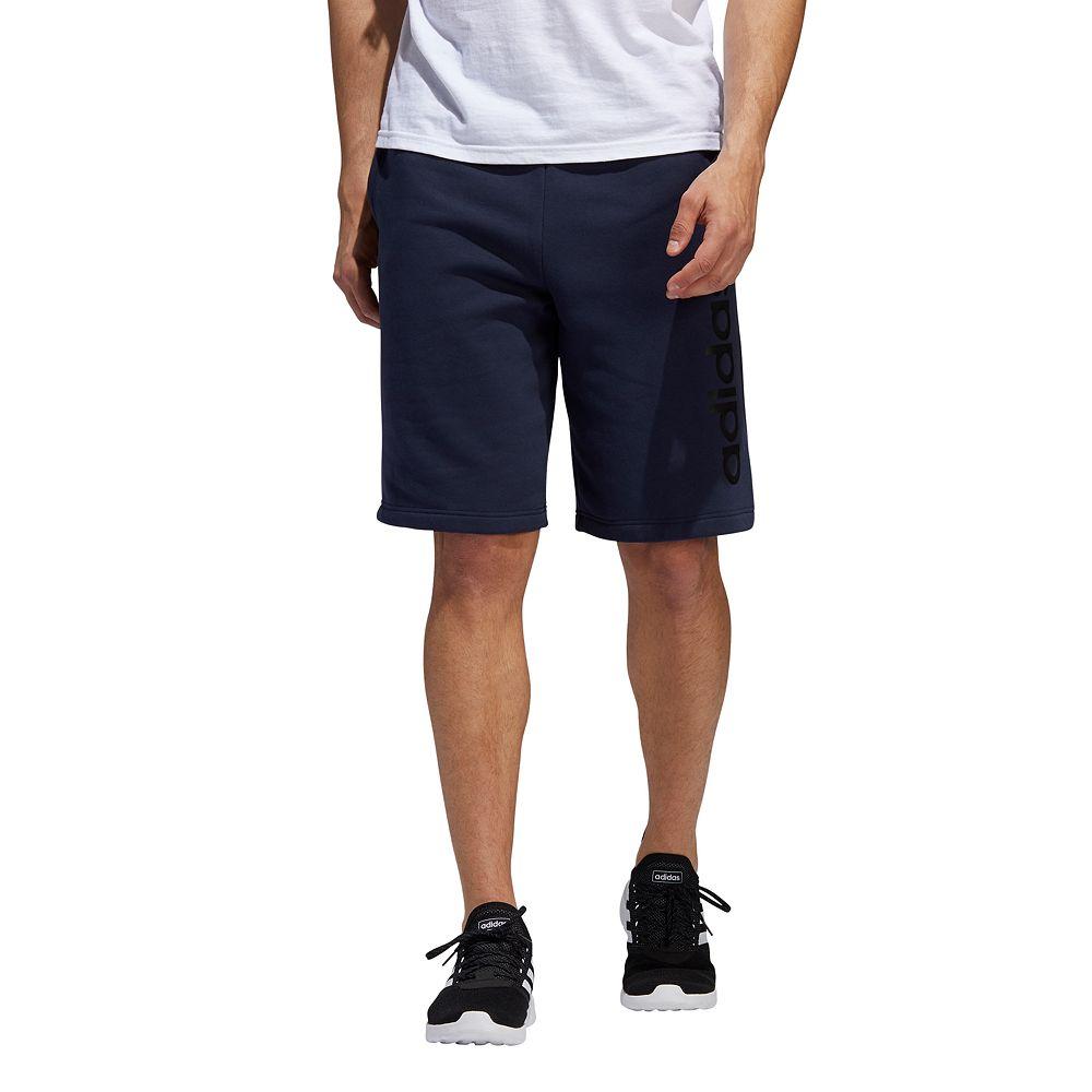 Mens adidas Essential Linear Fleece short