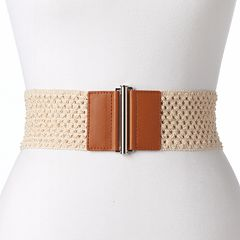 Women's SONOMA Goods for Life™ Crocheted Stretch Belt