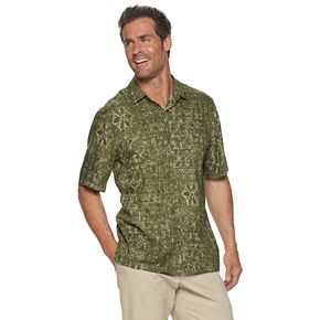 Men's Batik Bay Classic-Fit Tropical Button-Down Shirt