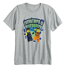 Boys 8-20 The Lego Movie 2 'Everything is Awesomer' Tee