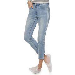 NEW! Juniors' America Rag High-Waisted Skinny Jeans