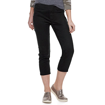 Women's SONOMA Goods for Life? Pull-On Capri Jeans