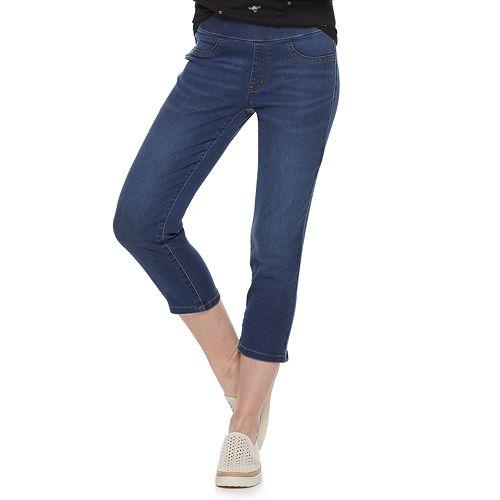 Women's SONOMA Goods for Life® Pull-On Capri Jeans