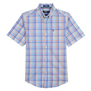 Boys 8-20 IZOD Island-Themed Button-Down Shirt
