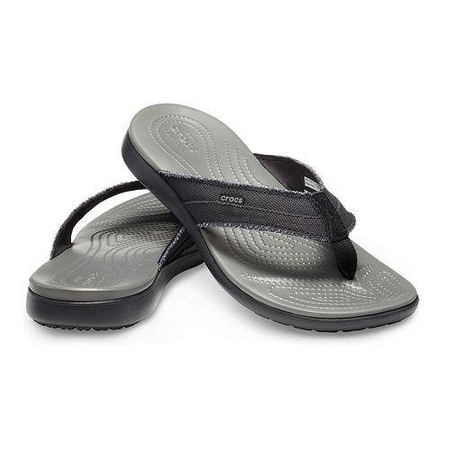 Crocs Santa Cruz Men's Waterproof Flip Flop Sandals
