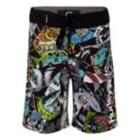 Boys 4-7 Hurley Sticker Collage Boardshorts
