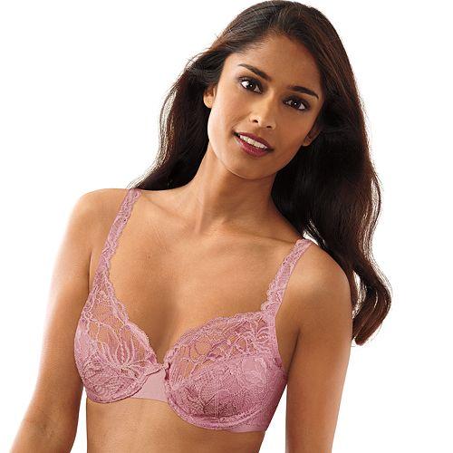 2 Bali Lace Desire Underwire Bras 6543