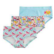Girls Mush Dance Seamless 3 pack Hipster underwear