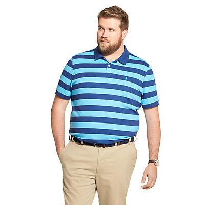 Big & Tall IZOD Sportswear Advantage SportFlex Classic-Fit Striped Performance Polo