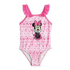 Disney's Minnie Mouse Baby Girl One-Piece Swimsuit by Dreamweave