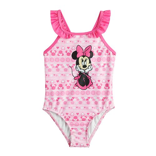 1f34c529fc Disney's Minnie Mouse Baby Girl One-Piece Swimsuit by Dreamweave