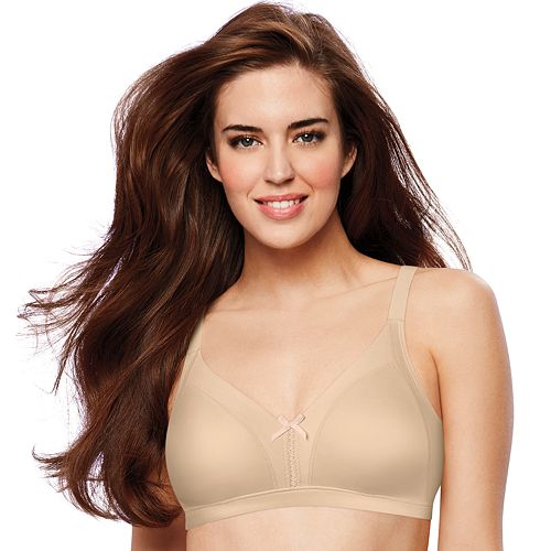 145d4f1f121b9b Women s Full Figure Bali Double Support Smoothing Wire-Free Bra DF0044