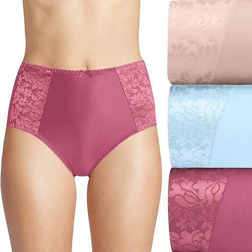 9//2XL 1 New BALI DOUBLE SUPPORT COTTON STRETCH BRIEF PANTY DFDCB3 U LOVE THESE