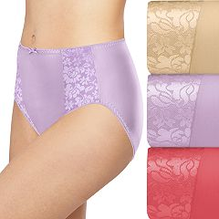 3995ec36a5 Bali 3-pack Double Support Hi-Cut Panties DFDBH3