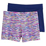 Girls 4-16 Playground Pals 2-pack Mini Bike Shorts